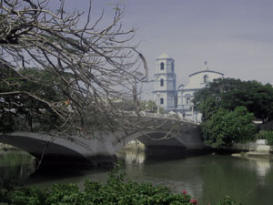 Capiz Bridge and Immaculate Concepcion Metropolitan Cathedral