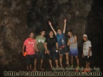 A pose inside the Suhoton cave with Erwin Jinon