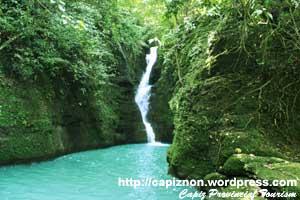 Pangilatan Falls, Tapaz, Capiz