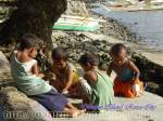 Children at Olotayan Island