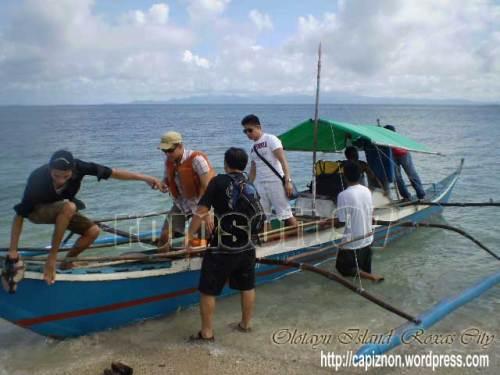 Olotayan Island Local Tourist from Manila