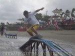 Skimboarding at baybay Beac, Roxas City