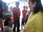 Mrs. Judy A. Roxas, mother of Senator Mar Roxas