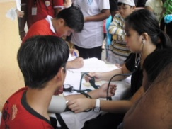Gawad Kalinga Medical Mission in Capiz