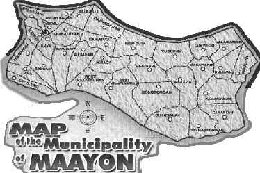 Map of Maayon Capiz