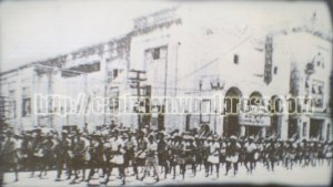 The March of Panay Guirellas at Iloilo City