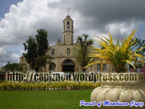 Mambusao Parish Church, Mambusao, Capiz