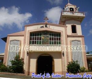 Parish of St. Isidore, Pontevedra, Capiz