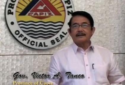 Capiz Governor Victor Tanco