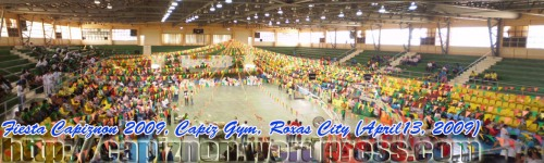 Fiesta Capiznon during capiztahan 2009, Capiz Gym, Villareal Stadium, Roxas City