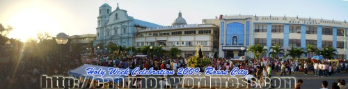 Holy Week in Roxas City, Philippines