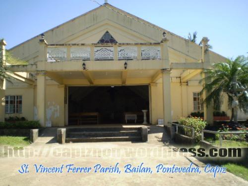 St. Vincent Ferrer Parish, Brgy. Bailan, Pontevedra, Capiz