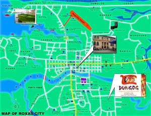 Map of Roxas City