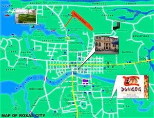 Map of Roxas City