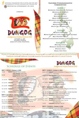 Dungog Iindigenous People Festival Schedule