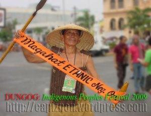 A Bukidnon leader from Dumanguete, Negros Oriental