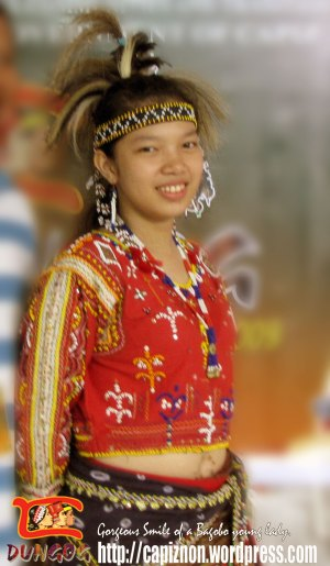 A sweet smile of a Bagobo girl.