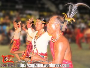 Kalinga Tribe performing a traditional dance