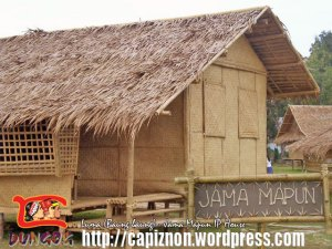 Luma: traditional house of Jama Mapun