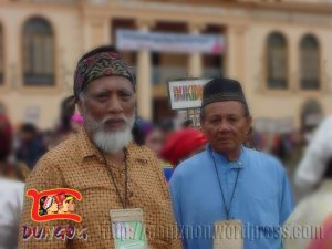An Imam and elder of Jama Mapun Ethnic Group