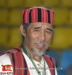 Peter Begawin, a Kankana-ey of Benguet Cultural Master