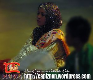 A Tausog Princess from Sultanate of Sulu