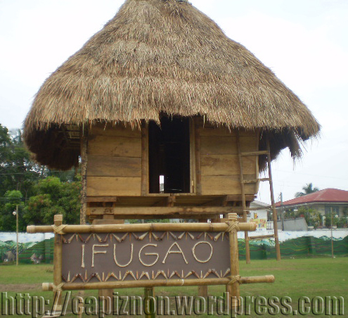 The Ifugao house is one of the most perfect forms of pre-Spanish