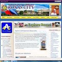 New Official Roxas City Website